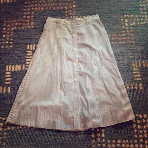 A New Day midi striped skirt